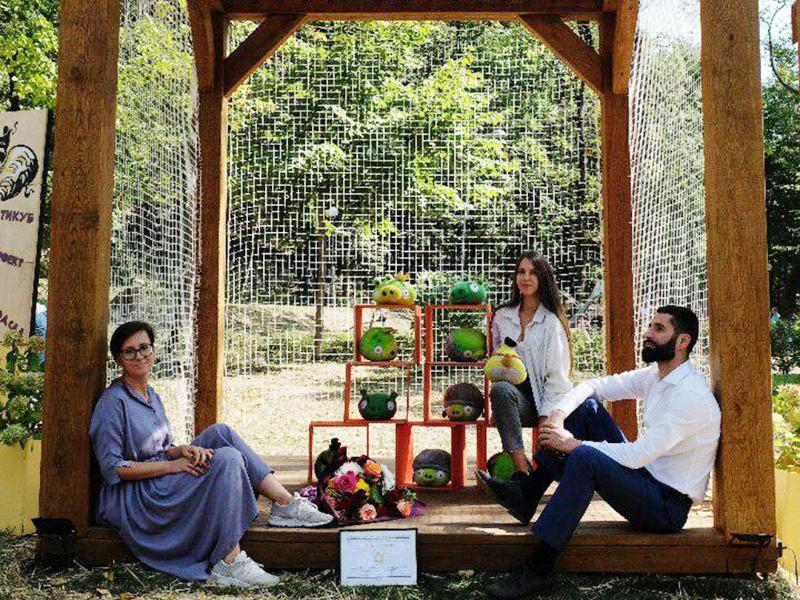 Деревянный куб воронежских архитекторов стал звездой «Города-Сада»
