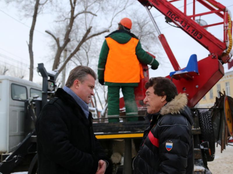 121 млн потратят на перевооружение наружного освещения в Воронеже