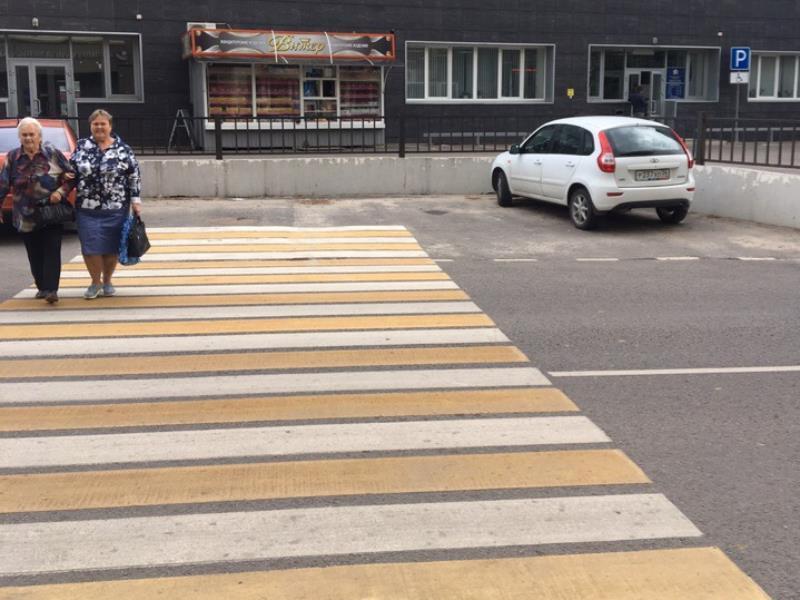 Издевательство «зеброй» над пенсионерами показали в Воронеже