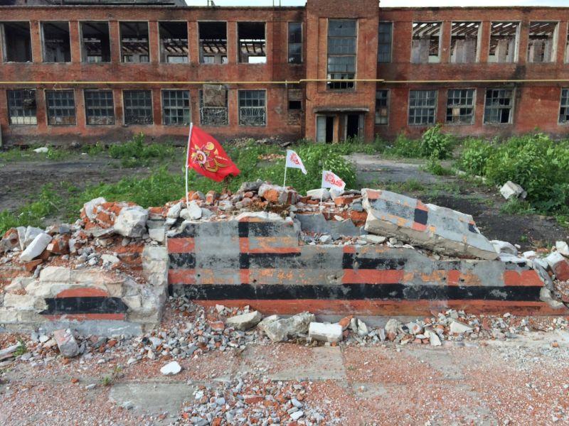 Воронежец сравнил разрушение памятника ВОВ на заводе Коминтерна с действиями фашистов