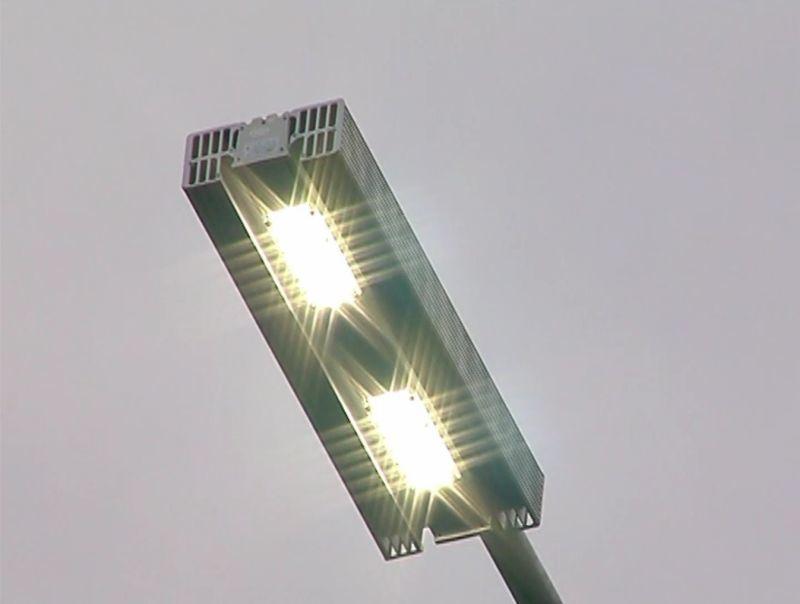 Выйти изсумрака!: Навъезде вВоронеж установили неменее массивные линии освещения
