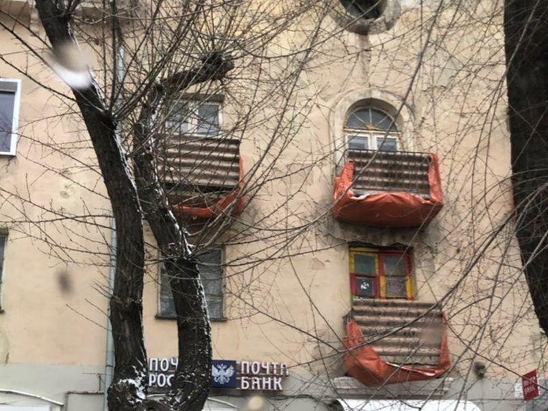 Супербезопасные балконы заметили на воронежском доме