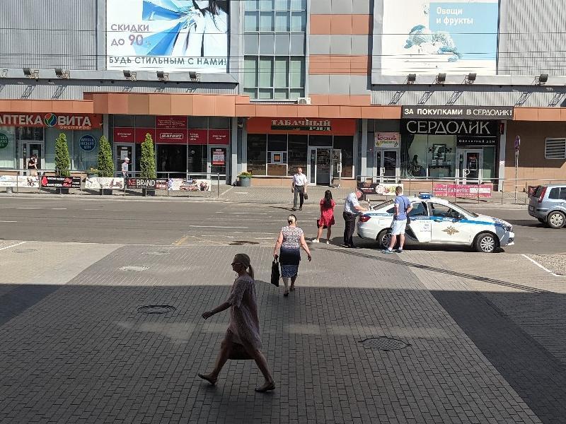 Хитрую облаву на пешеходов показали на фото в Воронеже