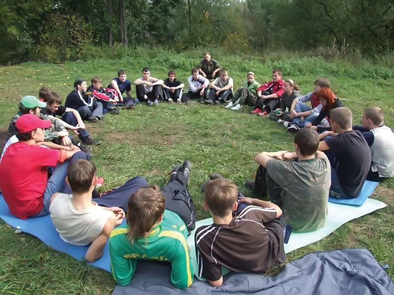 На в тренинги лагере знакомство