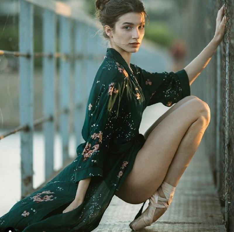 Шикарная балерина приняла участие в смелой фотосессии в Воронеже