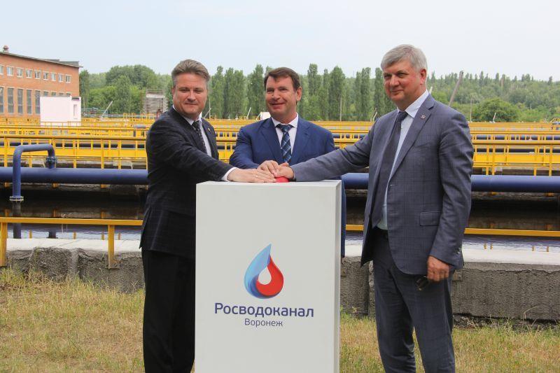 «Росводоканал Воронеж» завершил важный этап реконструкции очистных сооружений