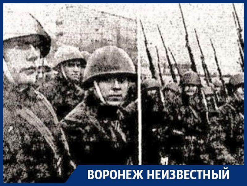 Каких героев в начале войны родил Первомайский сад Воронежа