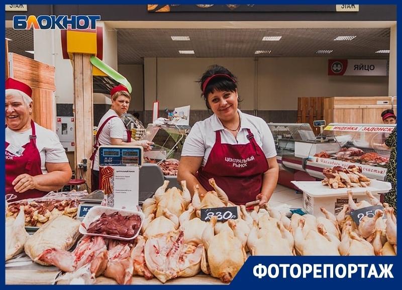 Что и почем продают на ультрасовременном Центральном рынке Воронежа