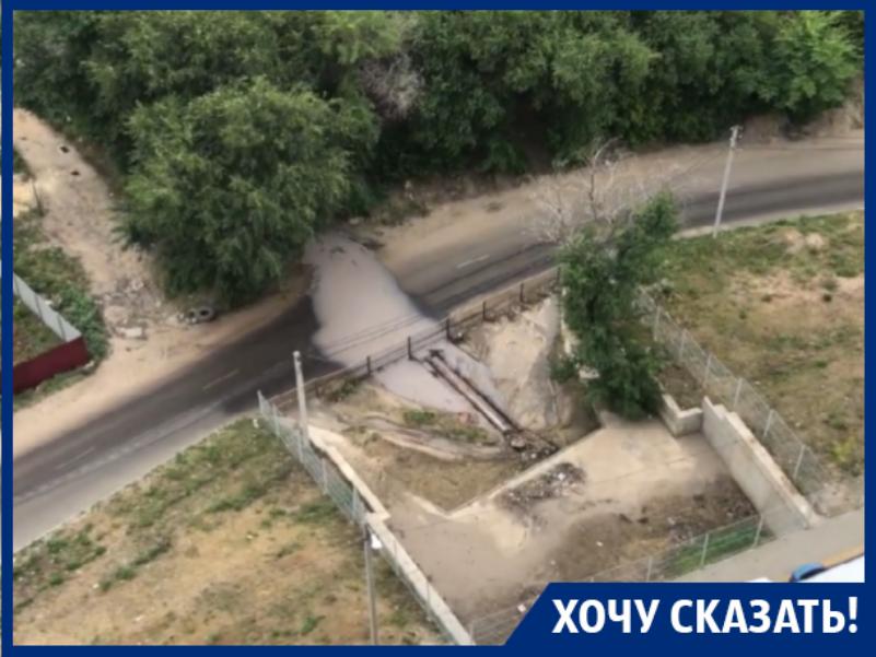 Воронежцы пожаловались на нечистоты от предприятий под окнами ЖК