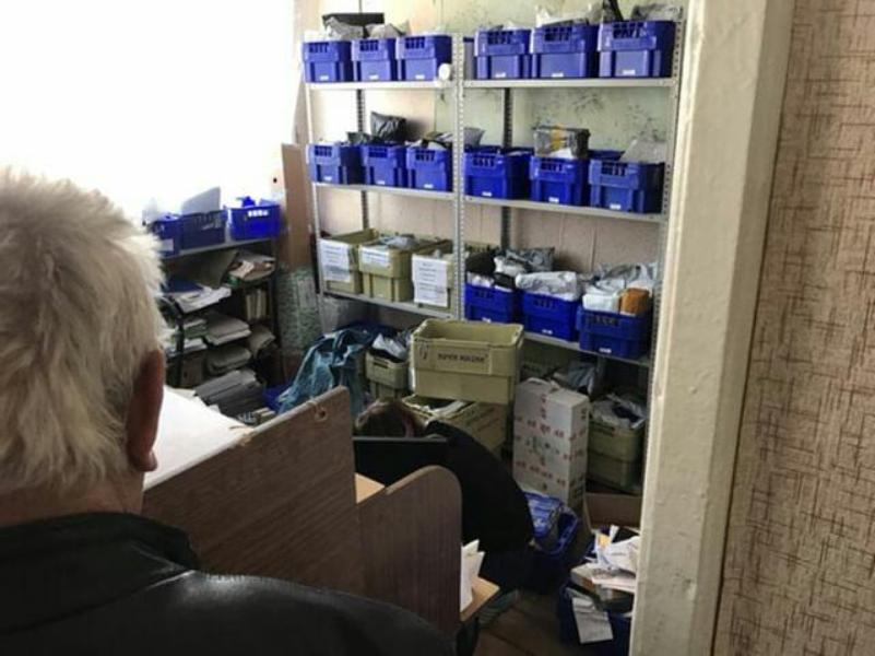 Удручающее состояние Почты России показали под Воронежем