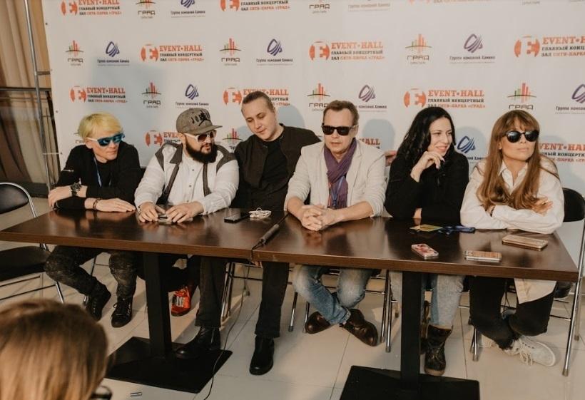 Звезды 90-х в Воронеже сравнили свое творчество с современной музыкой