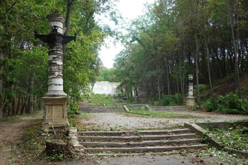 Через парк Динамо проведут ливневую канализацию