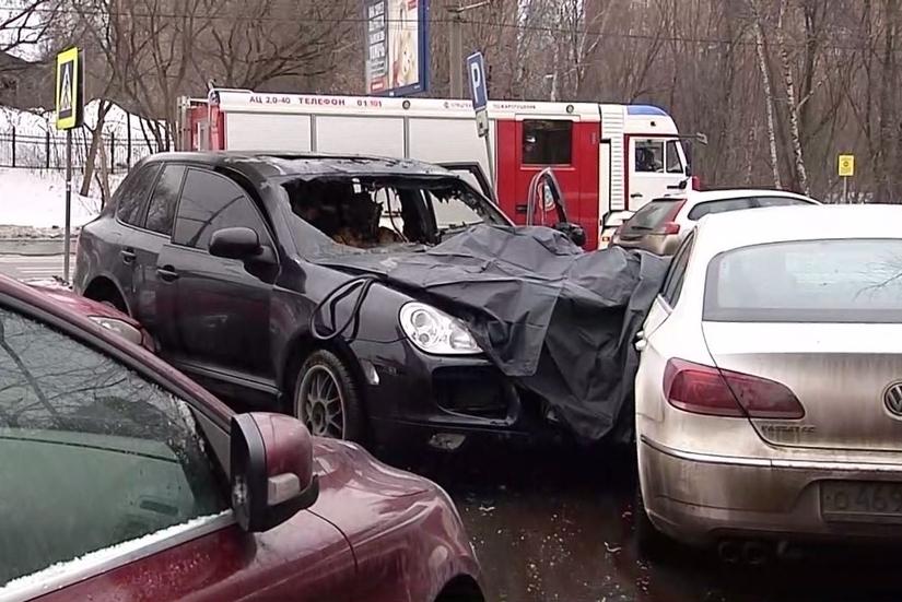 Порше сбил насмерть пешехода в российской столице
