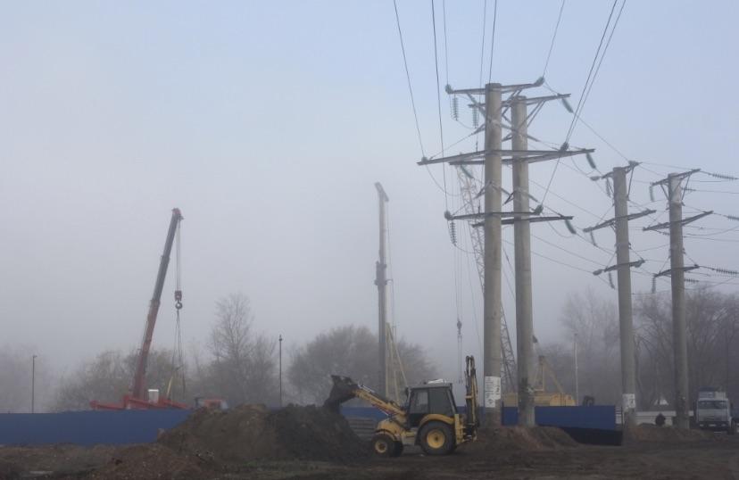 Воронежэнерго реконструирует высоковольтную линию электропередачи в центре Левобережной части Воронежа