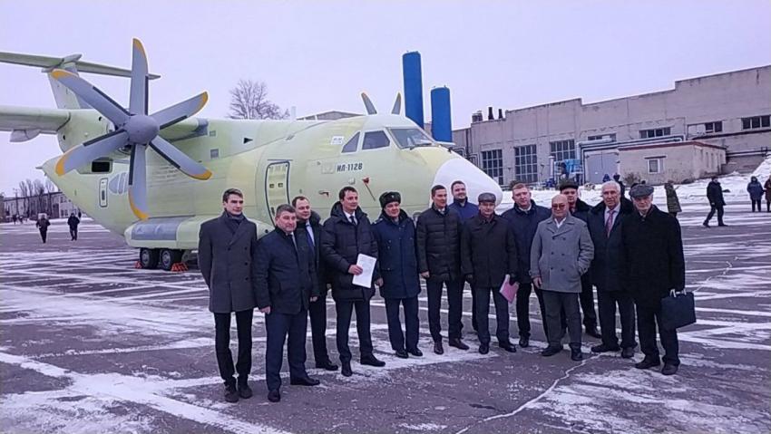 1-ый  Ил-112В передан налетные тестирования