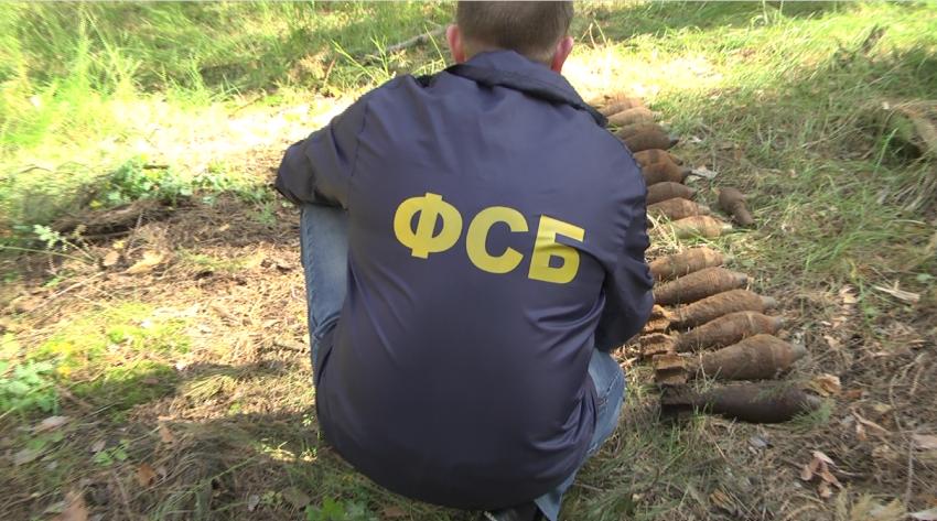 Около Нововоронежской атомной станции повыробатыванию электричества отыскали блиндаж сбоеприпасами времён войны