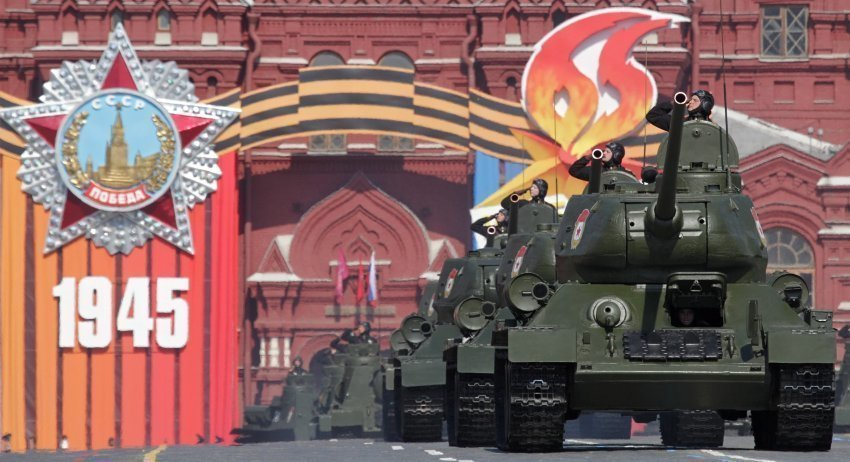 Парад без Украины