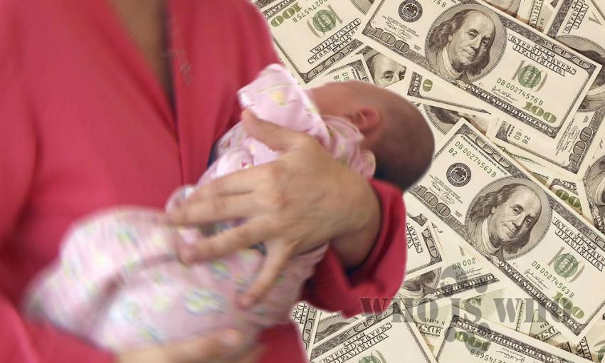 ВВоронеже пытались реализовать малыша за 30 тыс. руб.
