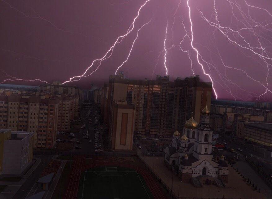 Два опасных явления ожидают воронежцев на выходных из-за погоды