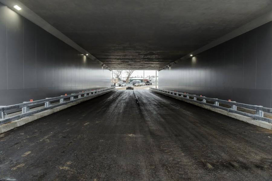 В Воронежской области под ж/д-путями открылся автомобильный тоннель