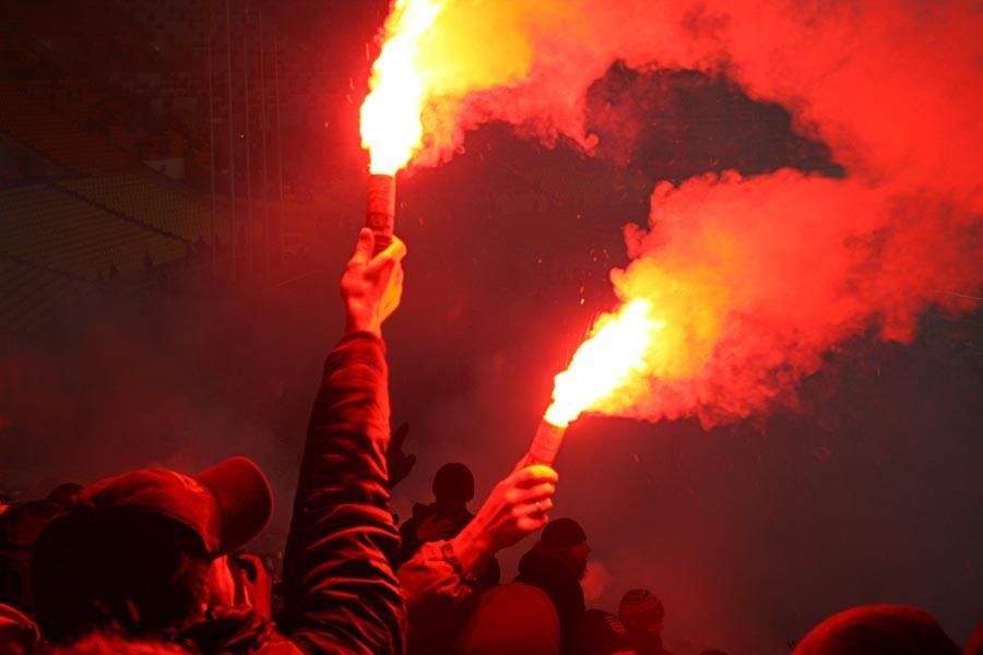 Болельщики воронежского «Факела» подставили клуб в Нижнем Новгороде