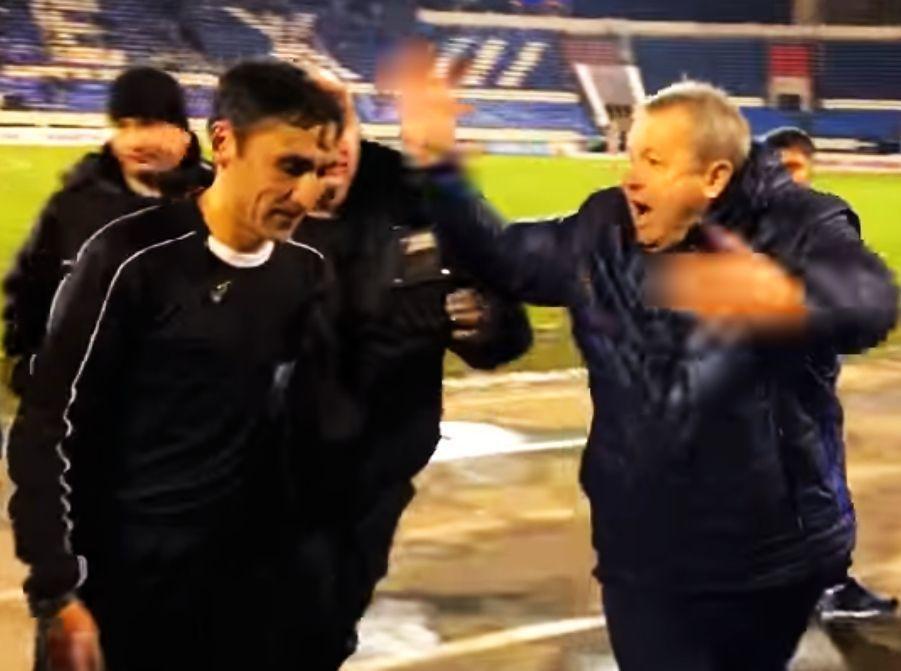 Тренер воронежского «Факела» Павел Гусев накричал на судью после матча с «Кубанью»