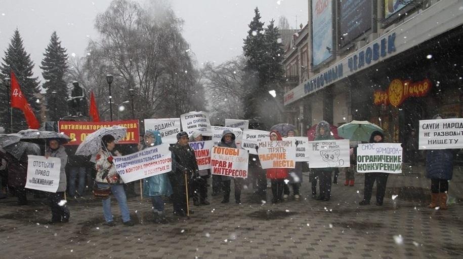В День чекиста воронежский малый бизнес попросил Путина прислать «докторов»