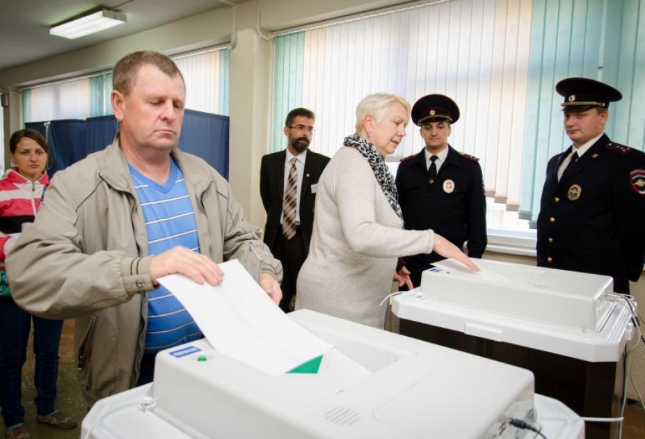 За Владимира Путина отдали голоса больше 950 тысяч воронежцев