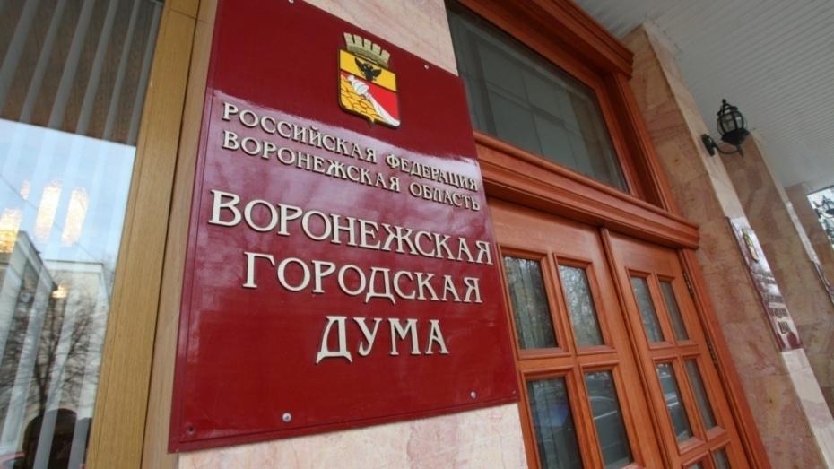 Воронежские депутаты решили увеличить расходы городского бюджета