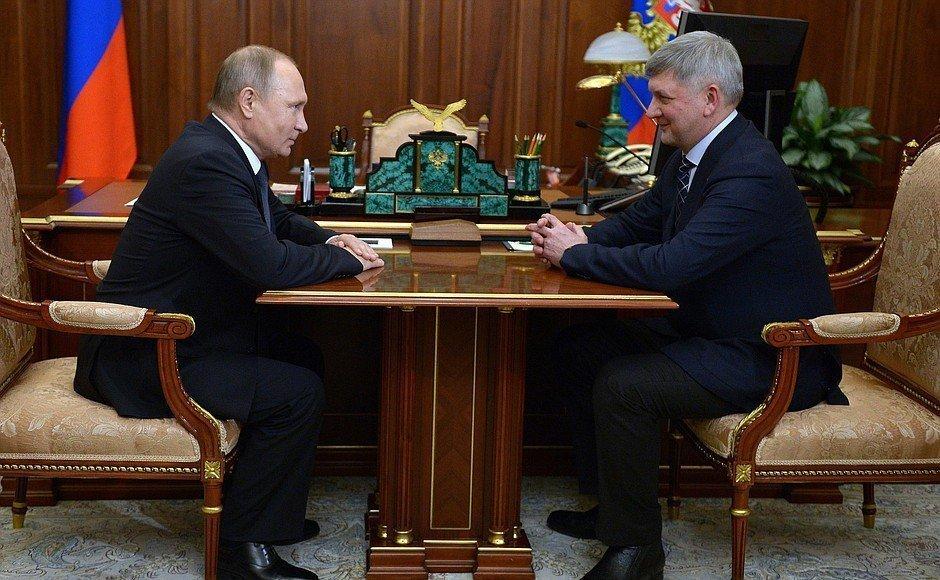 Путин может приехать на встречу с Гусевым в Воронеж