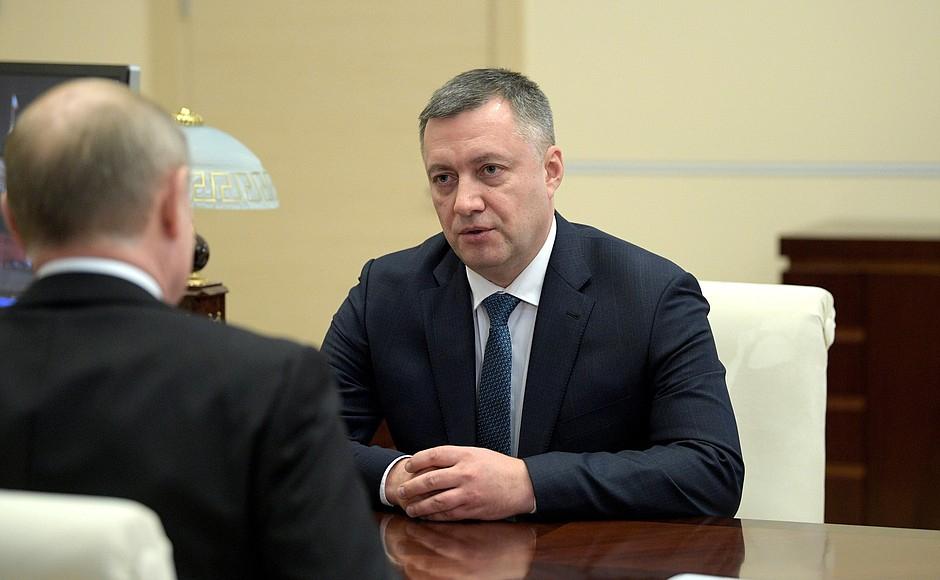 Воронежца Кобзева, ставшего губернатором Иркутской области, госпитализировали из-за Covid-19