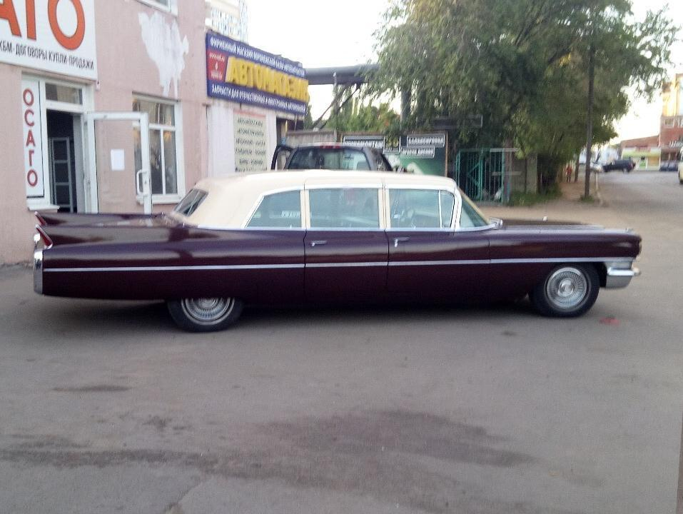 Мафиозный Cadillac из 60-х заметили в Воронеже