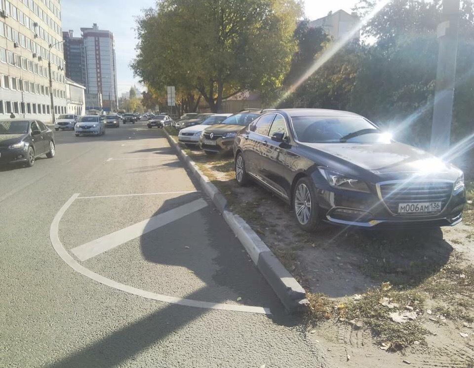 Бывший чиновник по-жлобски избежал оплаты парковки в Воронеже