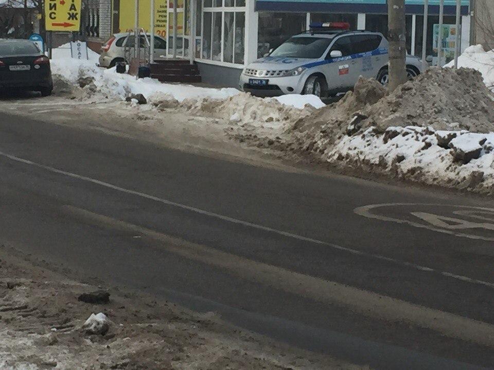 Пафосный кроссовер воронежской полиции восхитил автомобилистов