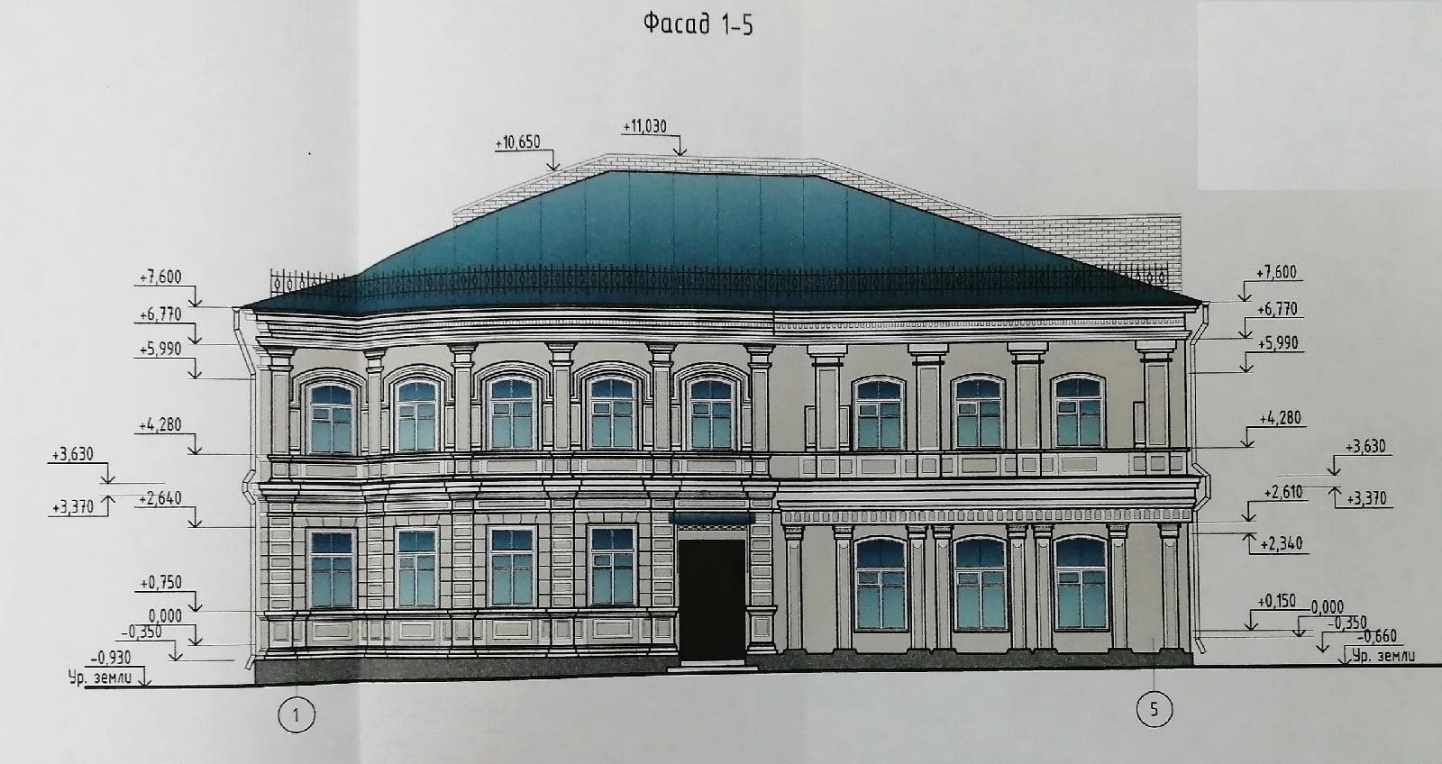 Опубликован проект реставрации старинного здания почтово-телеграфной конторы в Воронежской области