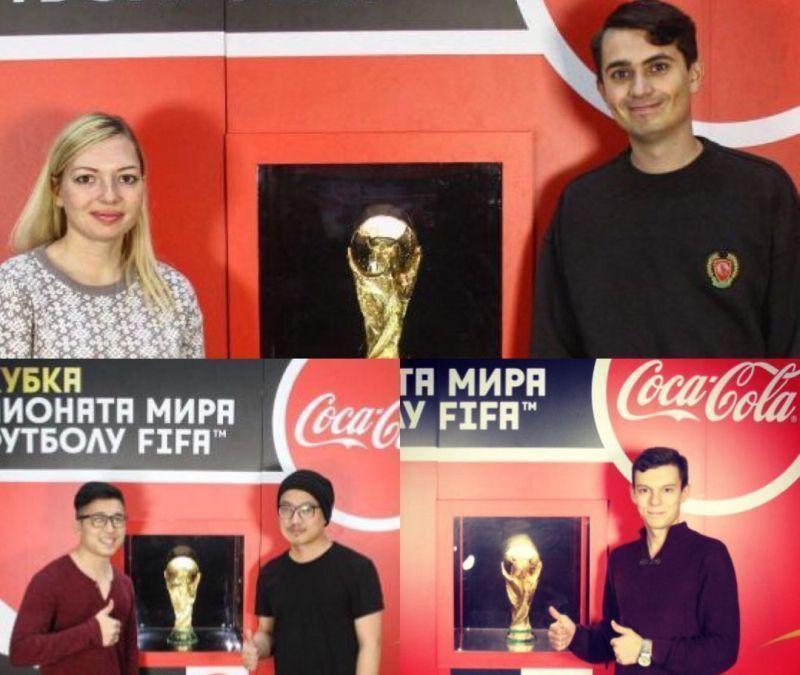 Драматическое испытание выдержали болельщики в Воронеже для фотосессий с кубком чемпионата мира