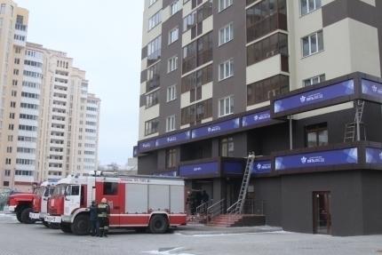 В Воронеже прошла экстремальная тренировка пожарных