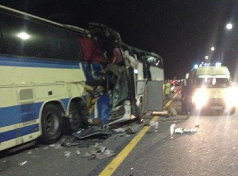 В столкновении пассажирских автобусов под Воронежем пострадали 40 человек