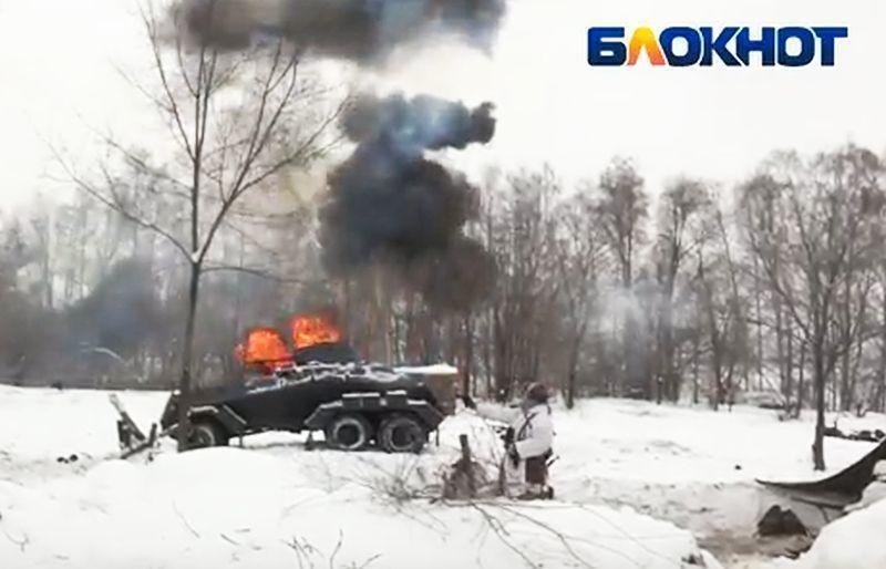 Воронеж обозначил годовщину освобождения отнемецко-фашистских захватчиков масштабной реконструкцией