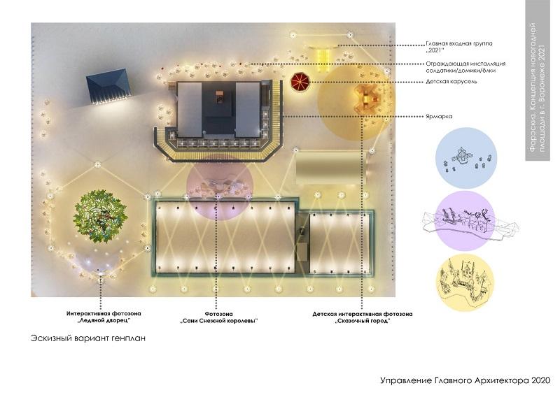 Как украсят площадь Ленина к 2021 году