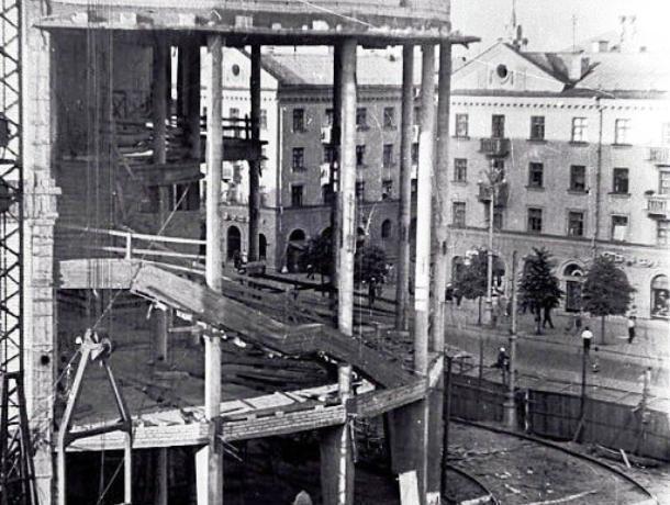 Воронежцы увидели, как строился кинотеатр «Пролетарий»