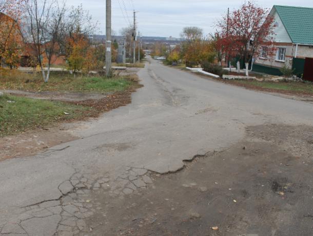 Опасную дорогу к воронежской школе показали общественники