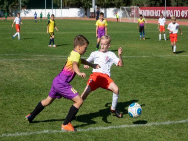 В Воронеже стартовал юношеский турнир по миди-футболу