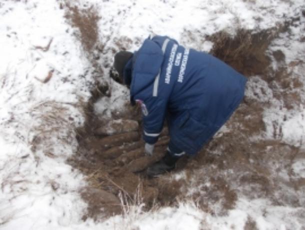 В Коминтерновском районе Воронежа нашли мину времен войны