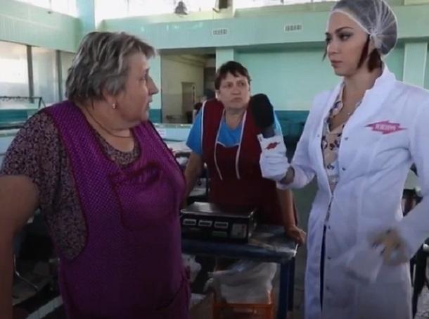 Ведущая «Ревизорро» пришла в уныние от мяса в Воронеже