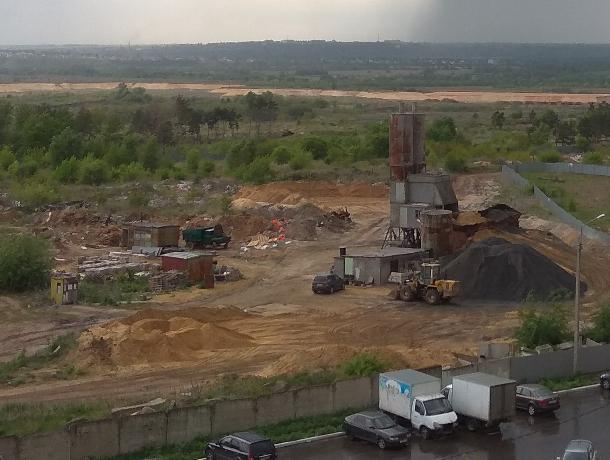 Воронежцы пожаловались на «несуществующий» цементный завод под окнами домов