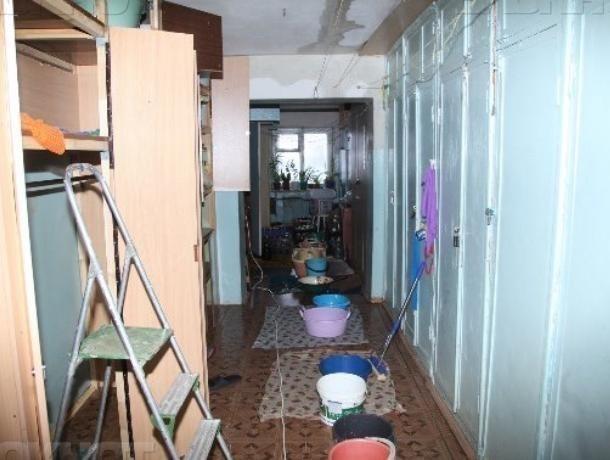 Ученики вернулись в пострадавшую от потопа школу в Воронеже
