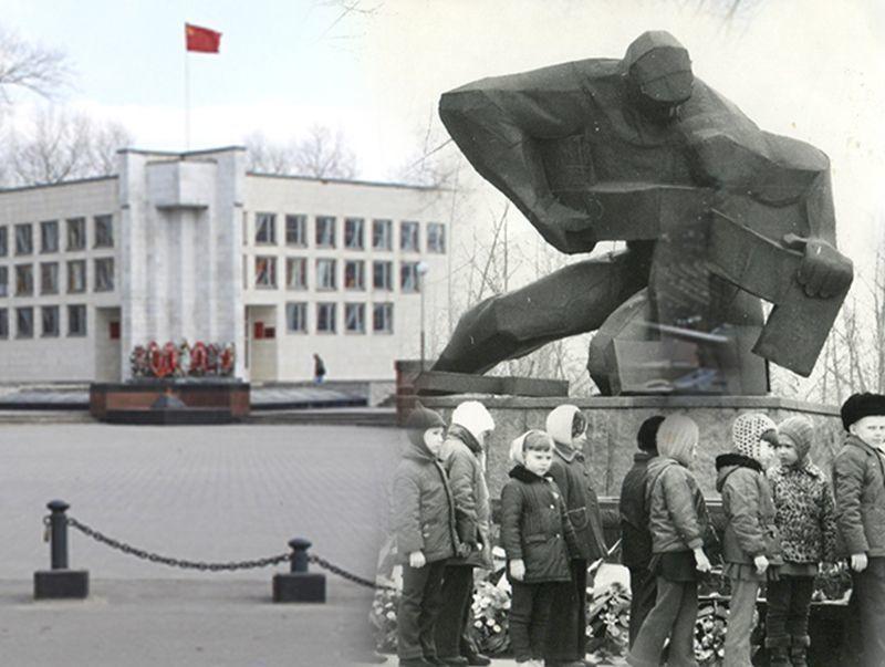 «Воронеж тогда и сейчас»: куда подевался памятник войны в парке Патриотов