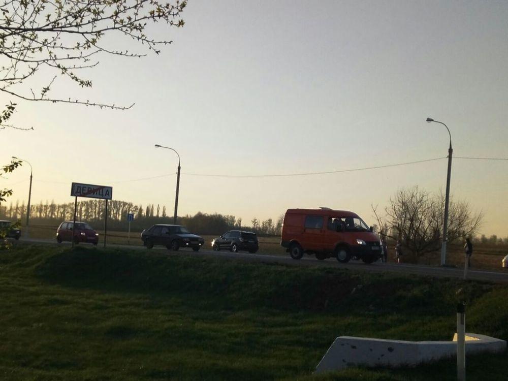 Под Воронежем вДТП сфурой разбился мотоциклист