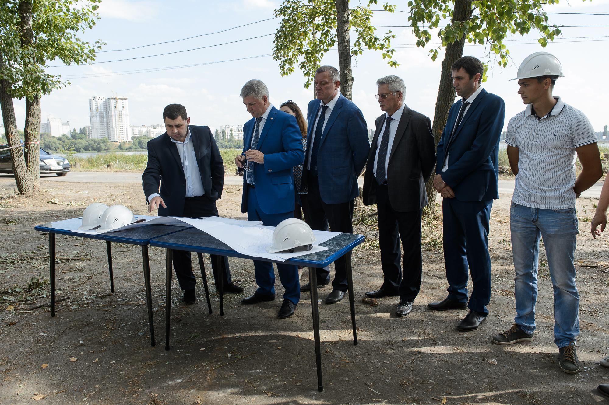 На дамбе Чернавского моста появится мощный спортивный кластер